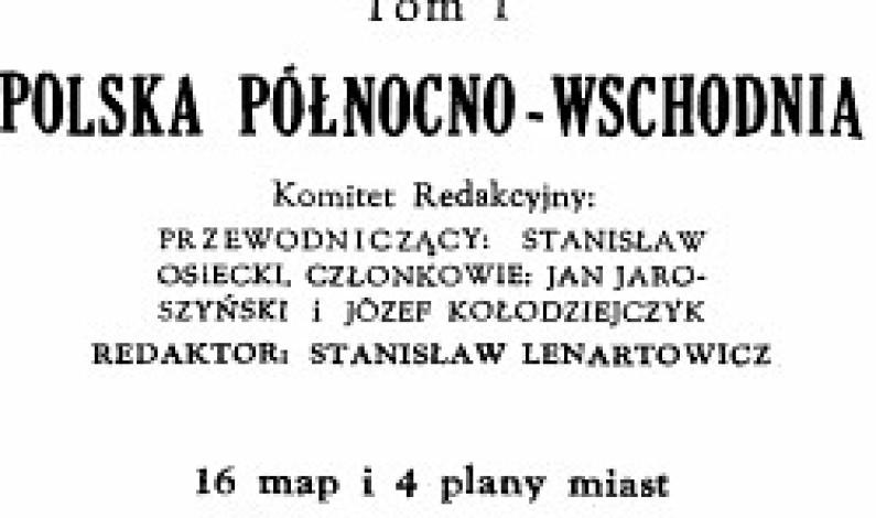 """""""Przewodnik po Polsce"""" (1935)"""