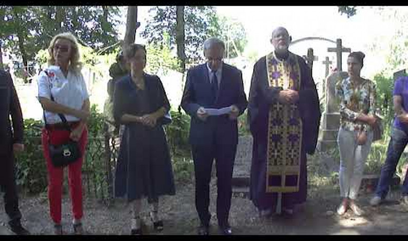 Poświęcenie odnowionego grobowca Mitraszewskich w Kobryniu