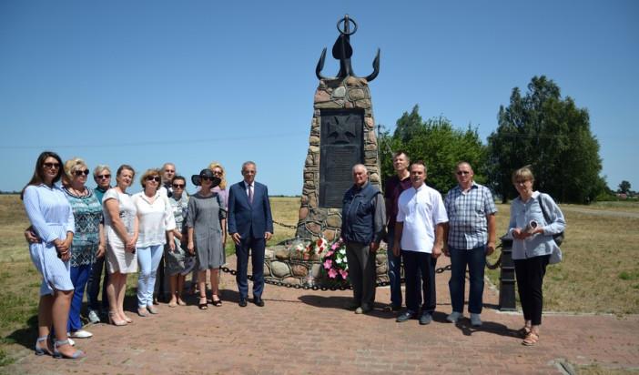 Uroczystość ku czci Marynarzy Flotylli Pińskiej w Mokranach