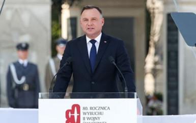 80. rocznica wybuchu II wojny światowej w Warszawie