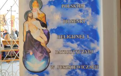 """II  Festiwal Piosenki Religijnej i Patriotycznej """"Te Deum"""" w Juszkiewiczach"""