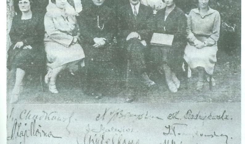 BAL MATURALNY W 1933 ROKU W BRZEŚCIU
