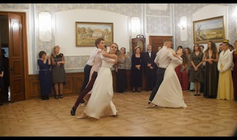 Pierwszy Bal Niepodległościowy w pałacu Niemcewiczów