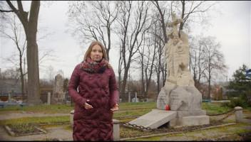 Grób Aleksandra Mickiewicza w Kobryniu