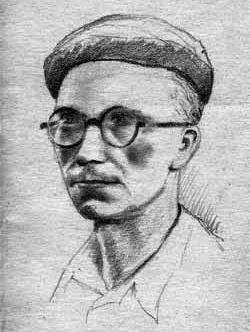 Autoportret o. Michała Woronieckiego na zesłaniu
