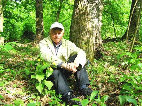 A.Dubrowski w rezerwacie Izin