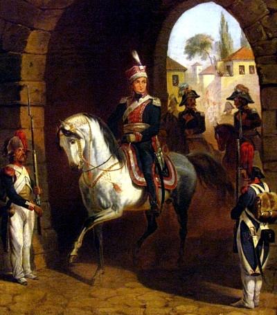Wjazd generała Jana Henryka Dąbrowskiego do Rzymu