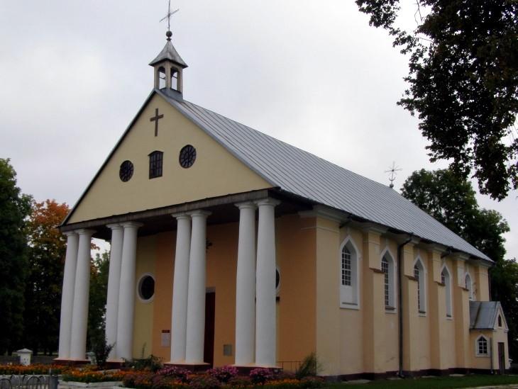 Kościół w Nowej Myszy. Fot. Alena by / Wikipedia