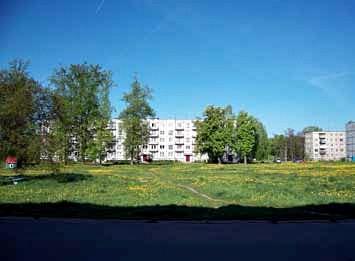 Obecny wygląd Słobódki. Fotografia z 2012 r.