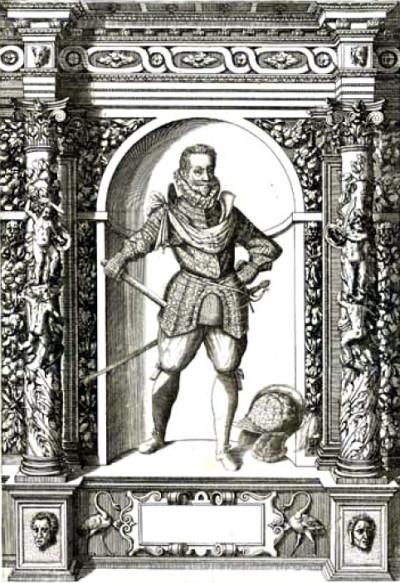 Na rysunku J.B.Fontany (1601) Radzwiłł Sierotka został przedstawiony w rynsztunku swojego ojca. Nie wiadomo, czy przez pomyłkę czy na swoje własne życzenie
