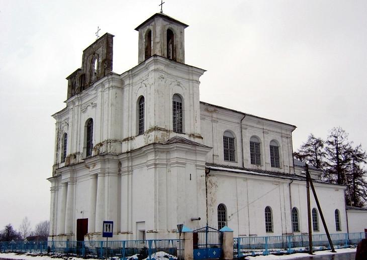 Dawny kościół Św. Jana Chrzciciela w Stołowiczach. Obecnie Cerkiew Zaśnięcia NPM