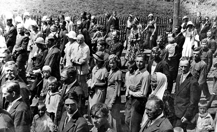 Maj 1935 roku w Telechanach