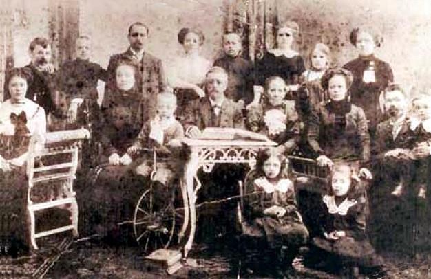 Rodzina Trebuchowskich ok. 1911 r.