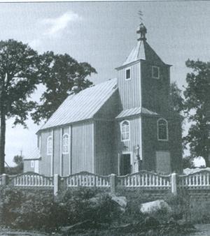 Siechnowicze Wielkie: obecny stan cerkwi fundowanej przez  Kościuszków. Fot. Google, Panoramio