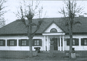 Kobryń. Dom Trauguta (obecnie Muzeum Suworowa) Fot. Google, Panoramio