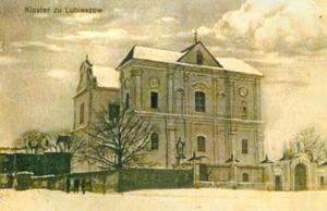 Lubieszów. Konwikt pijarów według stanu z 1915 roku. Fot. Google, Panoramio