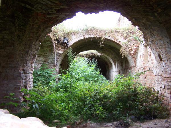 Bereza Kart. Klasztorne ruiny