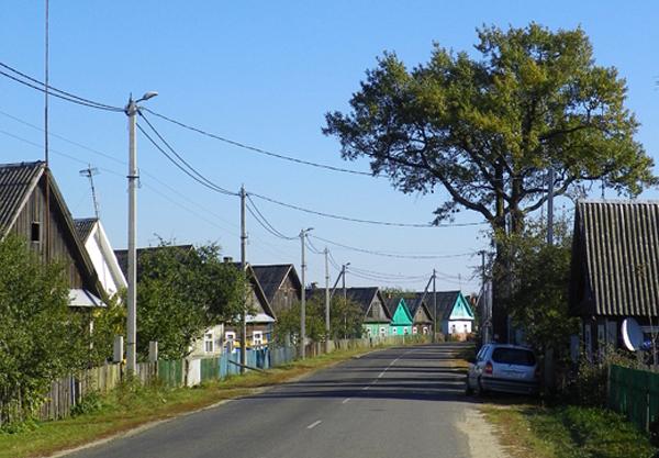 m. Szereszów. Ulica Prużańska