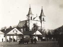 Dawny kościół Zwiastowania NMP w Klecku