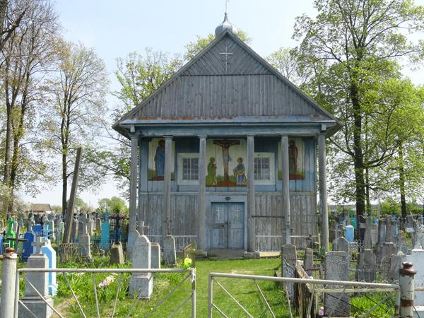 m.Szereszów. Kaplica na prawosławnym cmentarzu