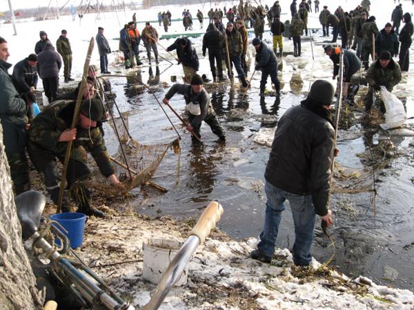 Zimowe rybobranie