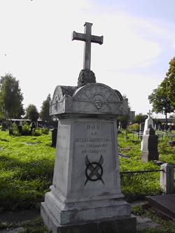 Grón Heleny Skirmunt, cmentarz komunalny przy ul. Spokojnej