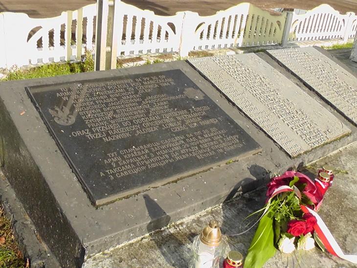 50. pomnik zolnierzom AK w Wierchowiczach