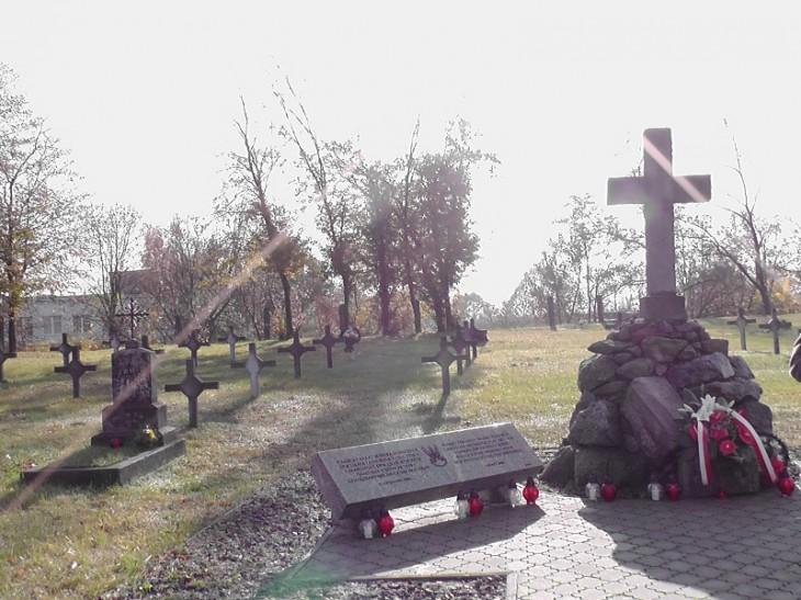 Cmentarz Garnizonowy żołnierzy Wojska Polskiego w Twierdzy Brzeskiej z lat 1920-1939