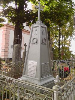 Są na cmentarzu mogiły znanych polskich rodów, zasłużonych dla Polski