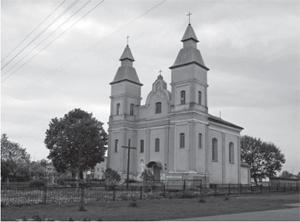 Kościół w Snowie. Tu pochowany właściciel miasteczka Jan Chryzostom Rdułtowski