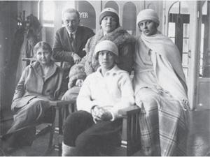 Jadwiga z Bochwiców Rdułtowska (pierwsza od prawej)