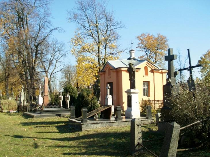 Cmentarz katolicki z XIX w. przy ul. Puszkińskiej