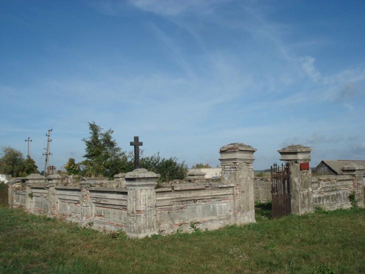 cmentarz stary w Popinie Nowej