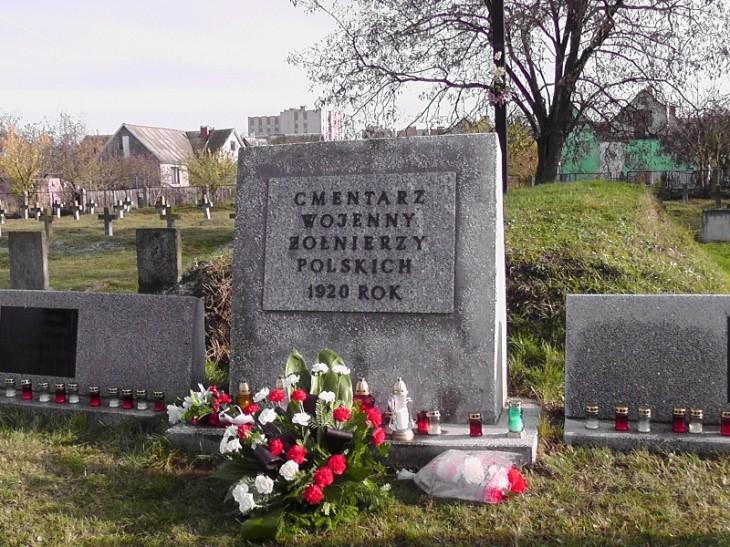 Cmentarz Wojenny z 1920 roku