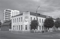 Budynek gimnazjum obecnie