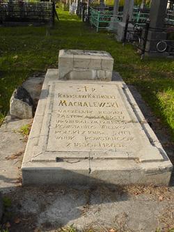 Mogiła Radosława Kazimierza Machalewskiego, powstańca wielkopolskiego z 1918 roku, wnuka powstańców z 1830 i 1863 r.