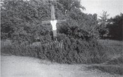 Bohdziuki. Krzyż prawosławny (fot. okres międzywojenny, ze zb. E. Trzeciaka)