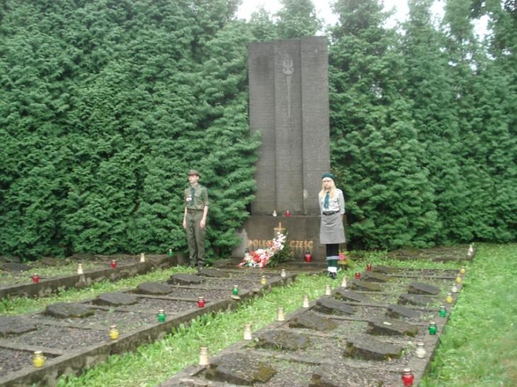 Kwatera żołnierzy Wojska Polskiego z 1920 roku
