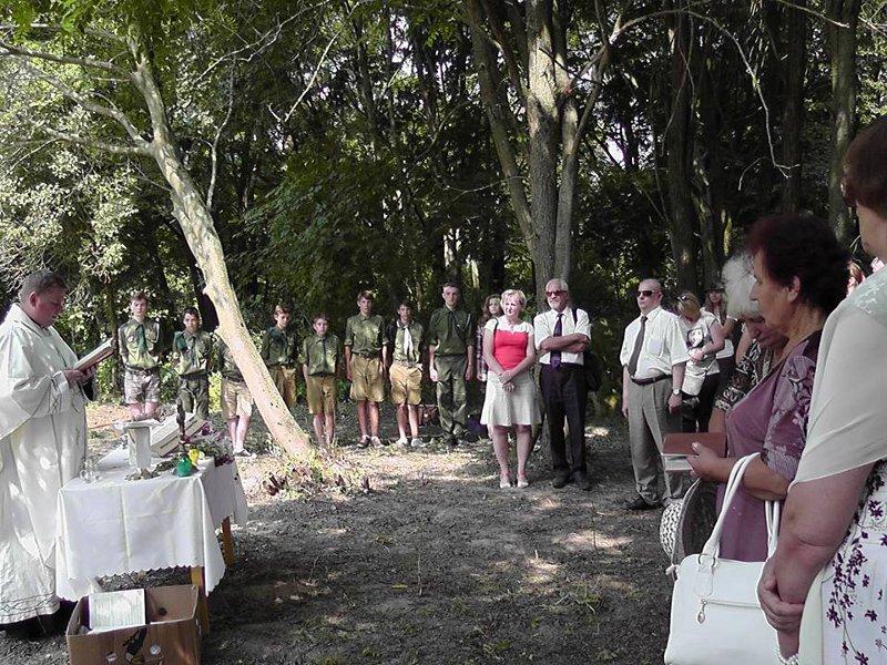 Uroczysty Apel ku czci Romualda Traugutta w Szostakowie