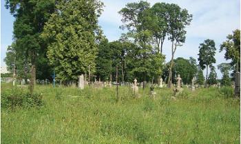 Cmentarz, czerwiec 2012