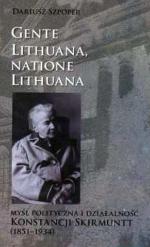 """Okładka książki Dariusza Szpopera (1851-1934) """"Myśl polityczna i działalność Konstancji Skirmunt"""", 2011."""