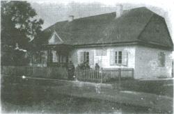 Szkoła Powszechna jednoklasowa w Bohdziukach - budynek (fot. okres międzywojenny, ze zb. E. Trzeciaka)