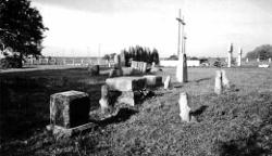 Cmentarz w Porycku, były tam groby powstańców