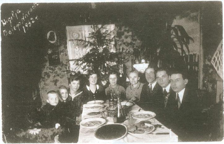 1. Wigilia rodziny Tumiłowiczów w 1932 roku