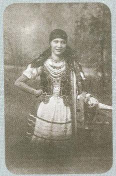 Wanda Hyska. Strój poleski