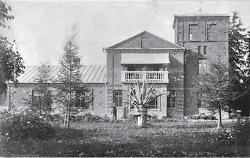 Zagroda Łopotów w Koreniewszczyźnie (foto z 1910 roku)
