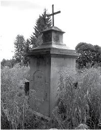 Rodzinne pochówki Łopotów na cmentarzu we wsi Darewo.