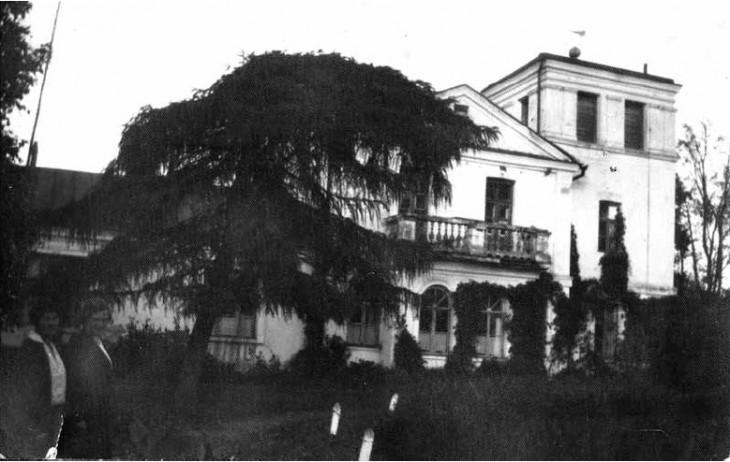 Dom w Koreniewszczyźnie (foto z lat '30)