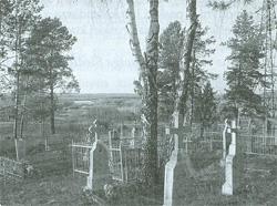 Starożytne Horodyszcze we wsi Staromłyny