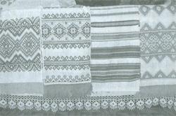 Wieś Niegowicze, haftowane ręczniki